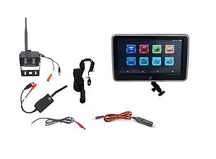 Visionworks 10 in. Touch Screen Monitor & Digital Wireless Camera System