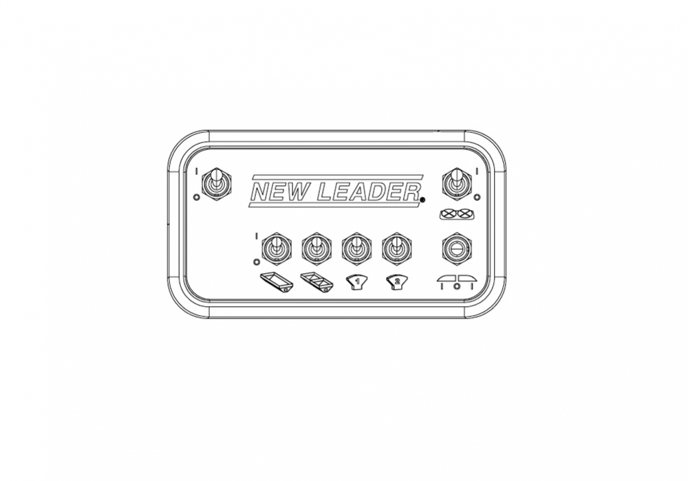 New Leader 310742 Switch Box