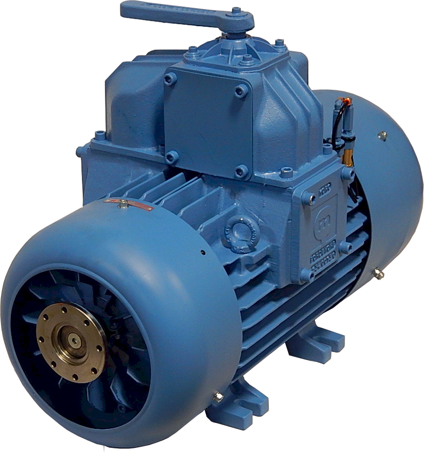 Moro AC5T 544 CFM Fan Cooled Pump