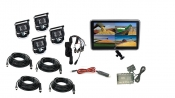 Visionworks 10 in. Touch Screen Monitor & Four Camera System