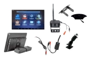 Visionworks T-12 Android 12 in. Touch Screen Android Monitor & Wireless Camera & RV Kit