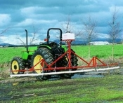 Smucker Weed Wiper 20 ft. 3 Point Hitch Mount