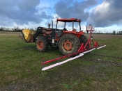 Smucker Weed Wiper 30 ft. 3 Point Hitch Mount
