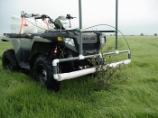 Smucker Weed Wiper Economy ATV Mount 5 ft. Boom