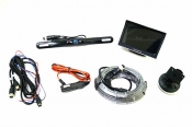 Vision Works 5 in. Monitor & License Plate Camera System