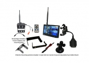 Visionworks 7 in. High Definition Monitor & Digital Wireless Camera RV Kit
