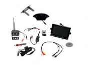 Visionworks 7 in. AHD Quad View Monitor & Digital Wireless Camera & RV Kit