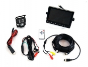 Visionworks 7 in. AHD Quad View Monitor & Camera Kit