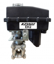 KZ Valve 89 Series 0.75in Stainless Steel Ball Valve 0.8 Second On/Off Actuator