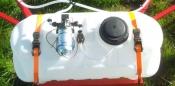 Smucker 14 Gallon ATV Spot Sprayer Tank 3GPM