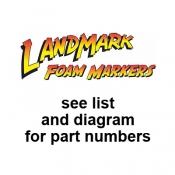 LandMark Poly Tank Foam Marker (1989-2013)