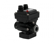 KZ Valve 1/4in ZipValve with 1/4in Push-to-Connect Fitting M12 Lid Connector