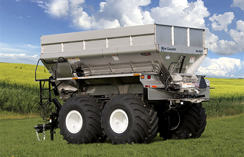 Stahly NL4560 G4 EDGE Large Capacity Drawn Dry Spinner Spreader