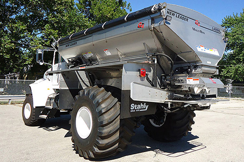 Stahly NL4000G4 MultiBin Spreader